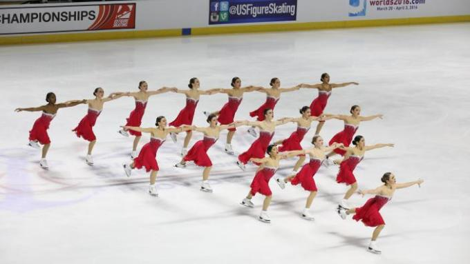 Midwestern and Pacific Coast Synchronized Skating Sectional Championships - Sunday at INTRUST Bank Arena