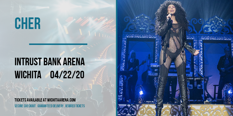 Cher [CANCELLED] at INTRUST Bank Arena