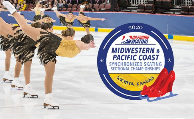 Midwestern and Pacific Coast Synchronized Skating Sectional Championships - Wednesday at INTRUST Bank Arena