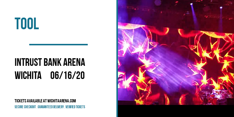 Tool [CANCELLED] at INTRUST Bank Arena